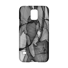 Abstract Black And White Background Samsung Galaxy S5 Hardshell Case