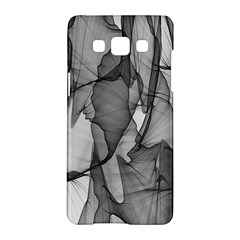 Abstract Black And White Background Samsung Galaxy A5 Hardshell Case