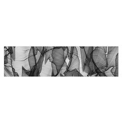 Abstract Black And White Background Satin Scarf (oblong)