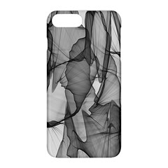 Abstract Black And White Background Apple Iphone 8 Plus Hardshell Case
