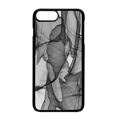 Abstract Black And White Background Apple Iphone 8 Plus Seamless Case (black)