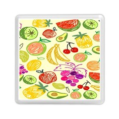 Seamless Pattern Desktop Decoration Memory Card Reader (square)