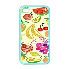 Seamless Pattern Desktop Decoration Apple Iphone 4 Case (color)