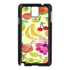 Seamless Pattern Desktop Decoration Samsung Galaxy Note 3 N9005 Case (black)