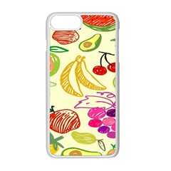 Seamless Pattern Desktop Decoration Apple Iphone 8 Plus Seamless Case (white)