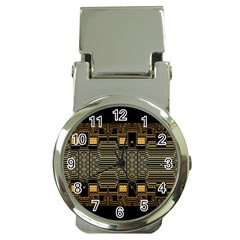 Board Digitization Circuits Money Clip Watches