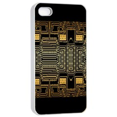 Board Digitization Circuits Apple Iphone 4/4s Seamless Case (white)