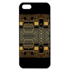Board Digitization Circuits Apple Iphone 5 Seamless Case (black)