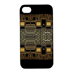 Board Digitization Circuits Apple Iphone 4/4s Hardshell Case With Stand