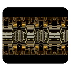 Board Digitization Circuits Double Sided Flano Blanket (small)