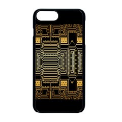 Board Digitization Circuits Apple Iphone 8 Plus Seamless Case (black)
