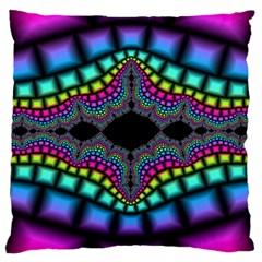 Fractal Art Artwork Digital Art Large Cushion Case (two Sides)