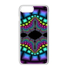 Fractal Art Artwork Digital Art Apple Iphone 8 Plus Seamless Case (white)