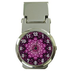 Background Abstract Texture Pattern Money Clip Watches