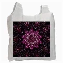 Background Abstract Texture Pattern Recycle Bag (one Side)