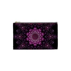 Background Abstract Texture Pattern Cosmetic Bag (small)