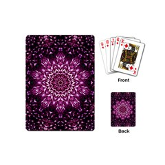 Background Abstract Texture Pattern Playing Cards (mini)