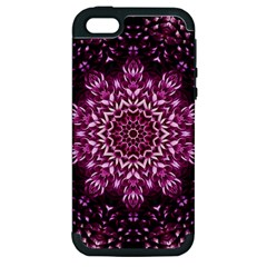 Background Abstract Texture Pattern Apple Iphone 5 Hardshell Case (pc+silicone)
