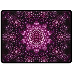 Background Abstract Texture Pattern Double Sided Fleece Blanket (large)