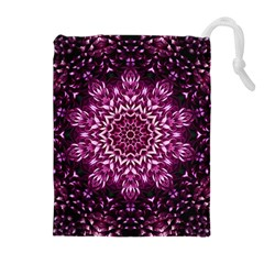 Background Abstract Texture Pattern Drawstring Pouches (extra Large)