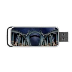 Bridge Mars Space Planet Portable Usb Flash (two Sides)