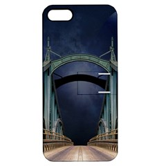Bridge Mars Space Planet Apple Iphone 5 Hardshell Case With Stand