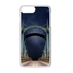 Bridge Mars Space Planet Apple Iphone 7 Plus Seamless Case (white)
