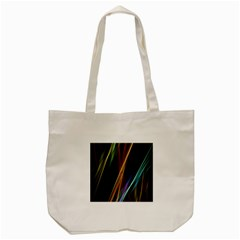 Lines Rays Background Light Tote Bag (cream)
