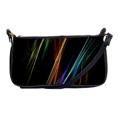 Lines Rays Background Light Shoulder Clutch Bags