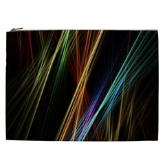 Lines Rays Background Light Cosmetic Bag (xxl)