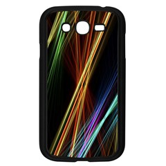 Lines Rays Background Light Samsung Galaxy Grand Duos I9082 Case (black)