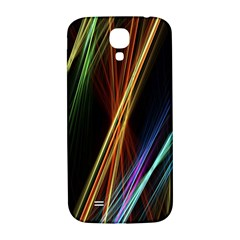 Lines Rays Background Light Samsung Galaxy S4 I9500/i9505  Hardshell Back Case