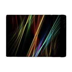 Lines Rays Background Light Ipad Mini 2 Flip Cases