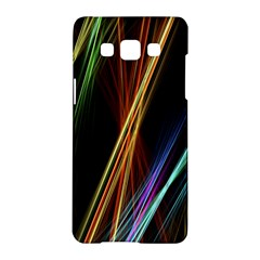 Lines Rays Background Light Samsung Galaxy A5 Hardshell Case