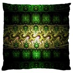 Fractal Art Digital Art Large Cushion Case (two Sides)