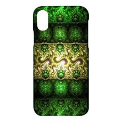 Fractal Art Digital Art Apple Iphone X Hardshell Case