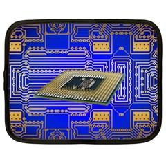 Processor Cpu Board Circuits Netbook Case (xxl)