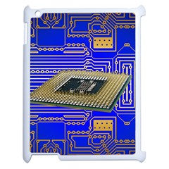 Processor Cpu Board Circuits Apple Ipad 2 Case (white)