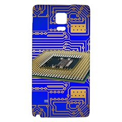 Processor Cpu Board Circuits Galaxy Note 4 Back Case