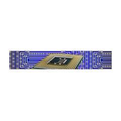 Processor Cpu Board Circuits Flano Scarf (mini)