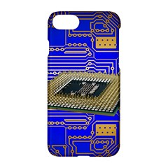 Processor Cpu Board Circuits Apple Iphone 8 Hardshell Case