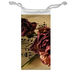 Sheet Music Manuscript Old Time Jewelry Bag