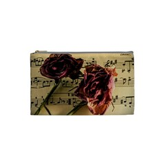 Sheet Music Manuscript Old Time Cosmetic Bag (small)