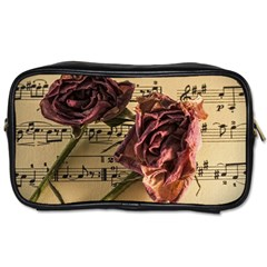 Sheet Music Manuscript Old Time Toiletries Bags 2 Side