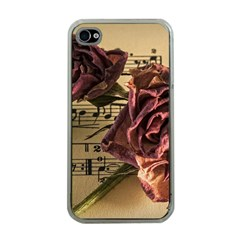 Sheet Music Manuscript Old Time Apple Iphone 4 Case (clear)