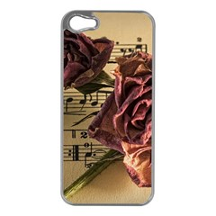 Sheet Music Manuscript Old Time Apple Iphone 5 Case (silver)