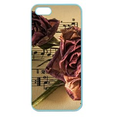 Sheet Music Manuscript Old Time Apple Seamless Iphone 5 Case (color)