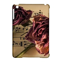Sheet Music Manuscript Old Time Apple Ipad Mini Hardshell Case (compatible With Smart Cover)