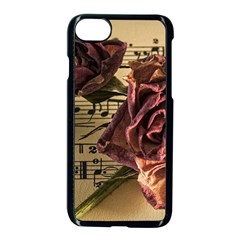 Sheet Music Manuscript Old Time Apple Iphone 7 Seamless Case (black)