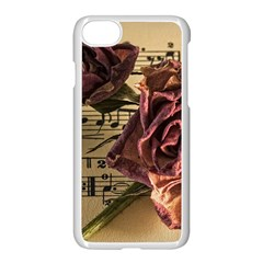 Sheet Music Manuscript Old Time Apple Iphone 8 Seamless Case (white)